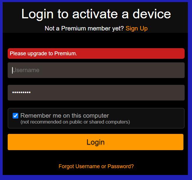 PornHub Premium activation