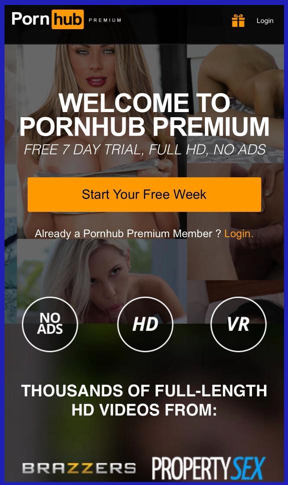 PornHub Premium app download