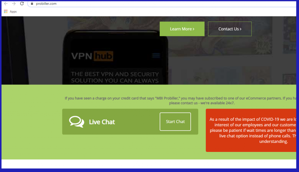 PornHub Premium - probiller.com billing
